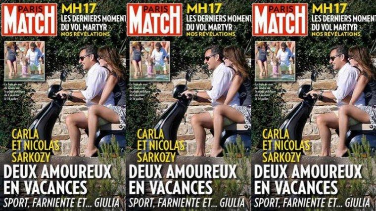 Paris Match : Nicolas Sarkozy «déclare la guerre à François Hollande» - lefigaro.fr