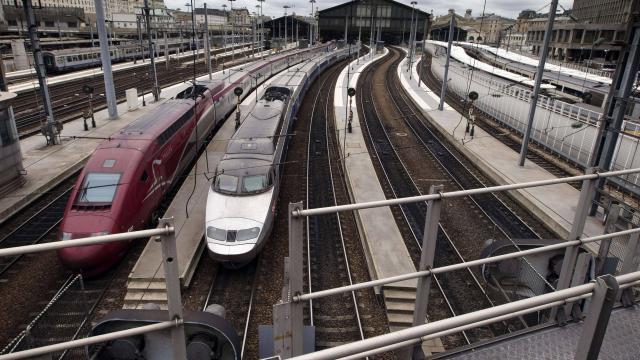SNCF. Trafic interrompu au départ de gare du Nord à cause d'un incendie - ouest-france.fr