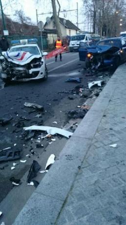Epinay : les policiers se font foncer dessus, trois blessé - leparisien.fr