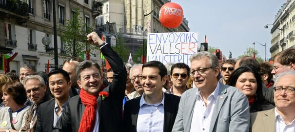 Syriza: la gauche de la gauche française a les yeux rivés sur la Grèce - lexpress.fr