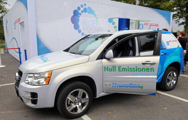 Automobile: La première station-service d'hydrogène de France inaugurée à Saint-Lô - 20minutes.fr