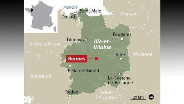 Rennes : il tue sa femme et amène le corps au commissariat - lci.tf1.fr