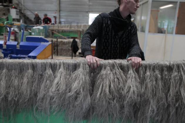 La France tisse un avenir au lin pour les matériaux composites de demain - AFP