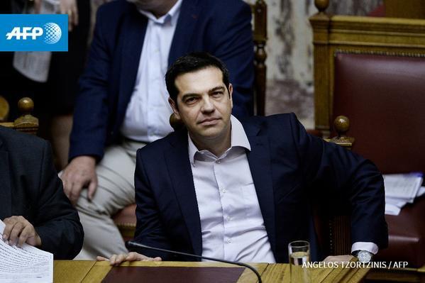 """Référendum grec: Tsipras appelle à un """"grand non"""" aux créanciers - AFP"""