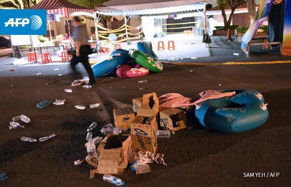 Taiwan: Plus de 500 blessés dans une explosion dans un parc de loisirs - AFP