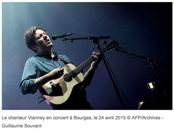 Vianney, un petit vent de fraîcheur dans la chanson française - AFP