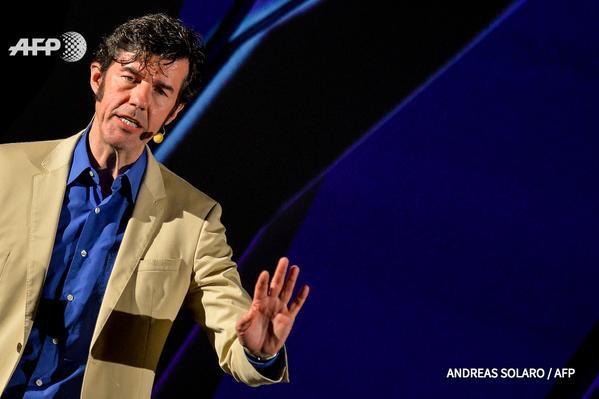 La beauté est de retour, assure le designer graphique Stefan Sagmeister - AFP