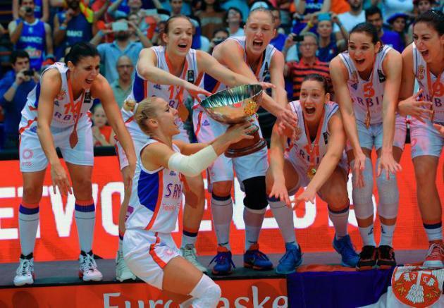 Basket: la Serbie sacrée, la France échoue encore à l'Euro dames - AFP