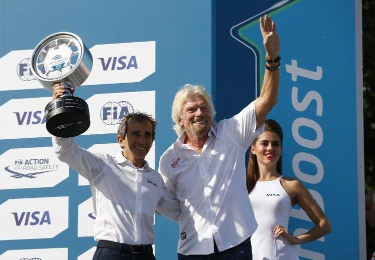Alain Prost: la Formule Electrique, «un truc de fou» - AFP