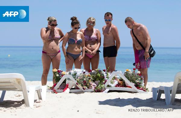 Attentat à Sousse - Au moins 30 Britanniques auraient été tués dans l'attaque en Tunisie - AFP
