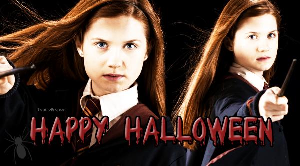 Joyeux Halloween mes petits sorciers ♥