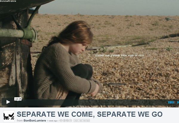 Photos Twitter de Bonnie! + Separate we come, Separate we go, le film de Bonnie est disponible, on y retrouve David Thewlis qui interprète Remus Lupin dans la sage Harry Potter.