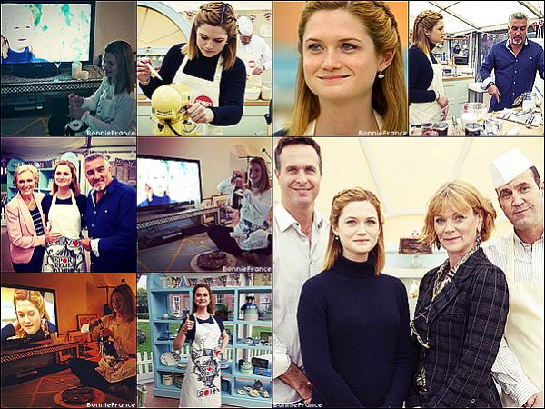Bonnie a participé et gagné au Great Sport Relief Bake Off! (émission de cuisine) + Clip réalisé par Bonnie Wright pour son amie Sophie Lowe +