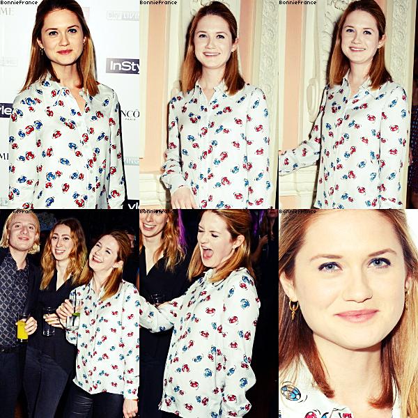 Bonnie dirige le clip de George Schuster + Bonnie au Pre-Bafta InStyle + Bonnie au Tessa Edwards Autumn/Winter 2014