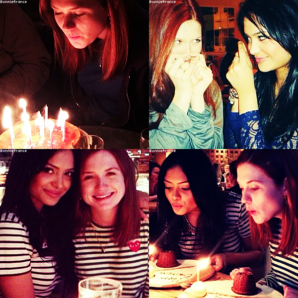 Projet de film pour 2014: How (Not) To Rob a Train (photos) + Bonnie a fêté son anniversaire avec Afshan Azad! + Photos Twitter