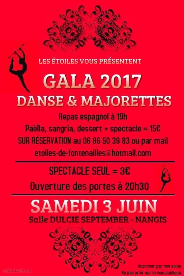 Gala des Étoiles - samedi 03 juin 2017