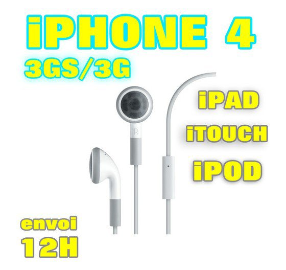 Ecouteurs Kit Piéton Iphone Ipad Ipod à moins de 10 EUR- !