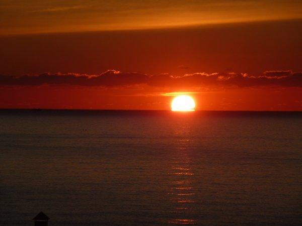lever du soleil a Alméria