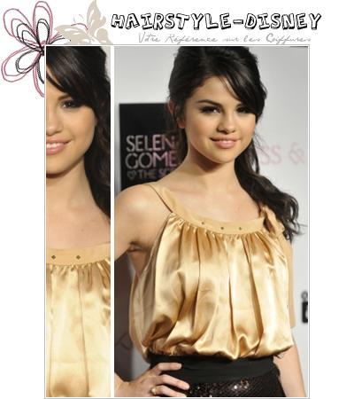 H A I R S T Y L E - D I S N E Y Article XXXVI : Selena Gomez