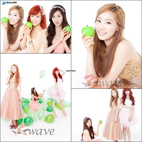 Les TTS pour le photoshoot KBS Hallyu Magazine