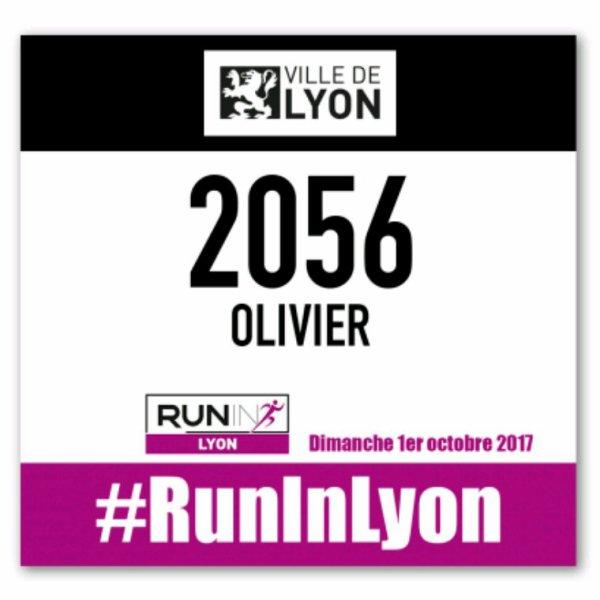 Dimanche 1 Octobre 2017 : 10 km de Lyon
