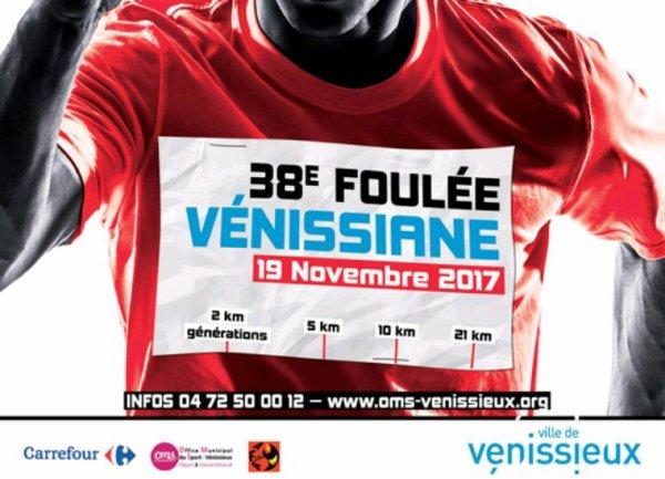 Dimanche 19 Novembre: 10 km de Venissieux
