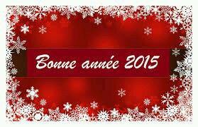 Bonne Année 2015 :-) !!!!