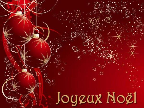 Bon réveillon et Joyeux Noel