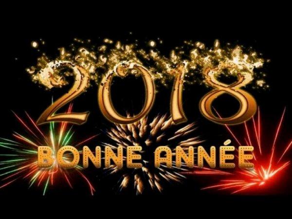 Bonne Année 2018 !!!!