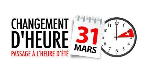 Heure d'Été 2019 !!!!