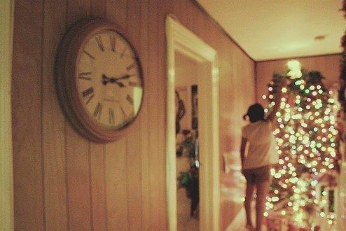 Pour Noel, j'aimerais juste t'avoir toi, près de moi.