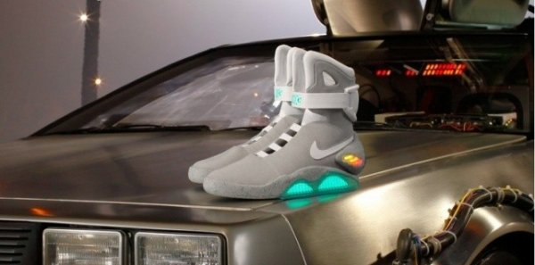 Nike : Back to the future 2