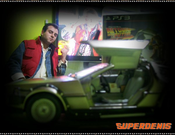 Cosplay Marty Mc Fly BTTF 2
