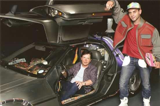 Rencontre de Michael J Fox