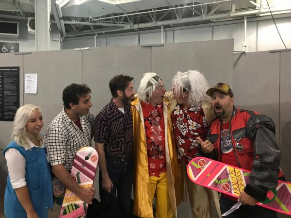 Back to the London Film and Comic Con 2017