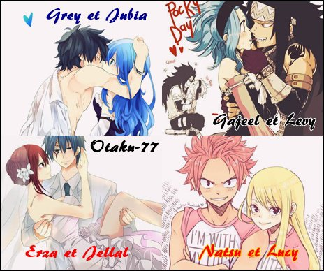 Couple fairy tail  ♥