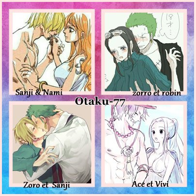 couple one piece ♥