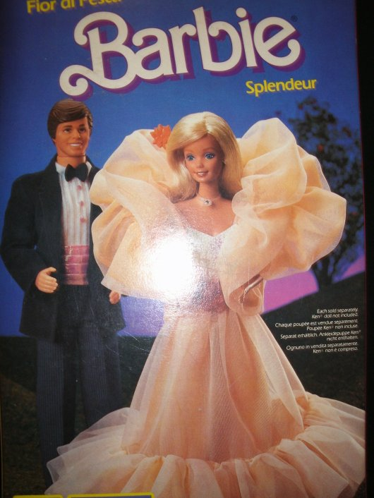 "BARBIE ""PEACH N' CREAM"" ou ""SENSATION"" de 84"