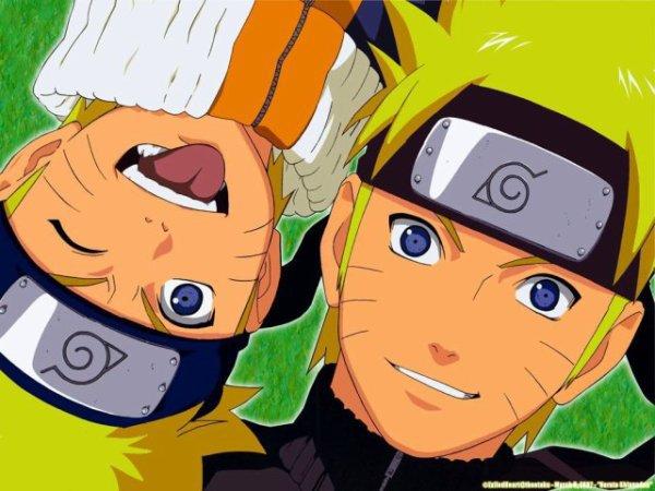Naruto Petit et Naruto Grand