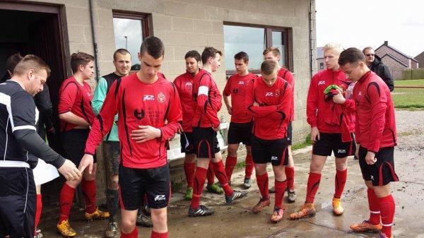 103e article : championnat ; les matchs du samedi : les cadets face à Sambreville et les juniors à Spy ...