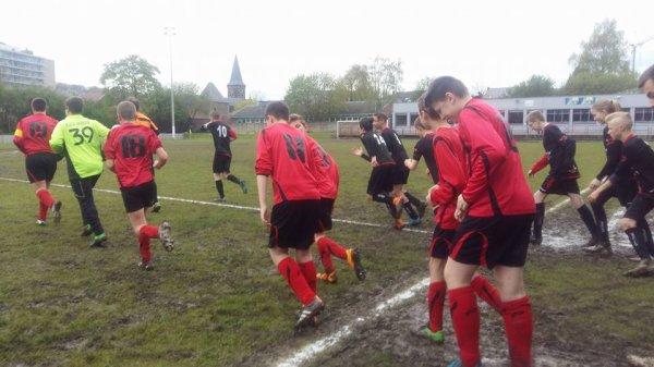113e article : championnat : match du samedi : cadets U15 à Sambreville