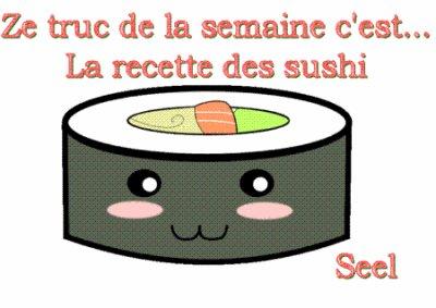La recette des sushi