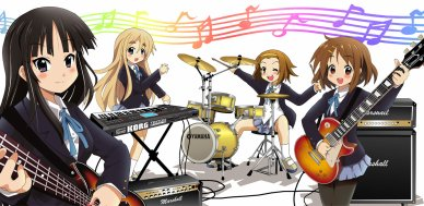 K-ON! ( article en court )