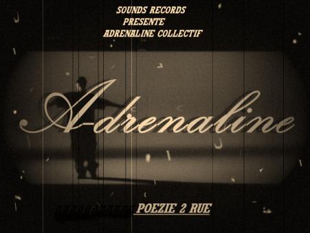 pochette adrenaline -collctiff