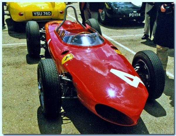 Les F1 mythiques de Ferrari