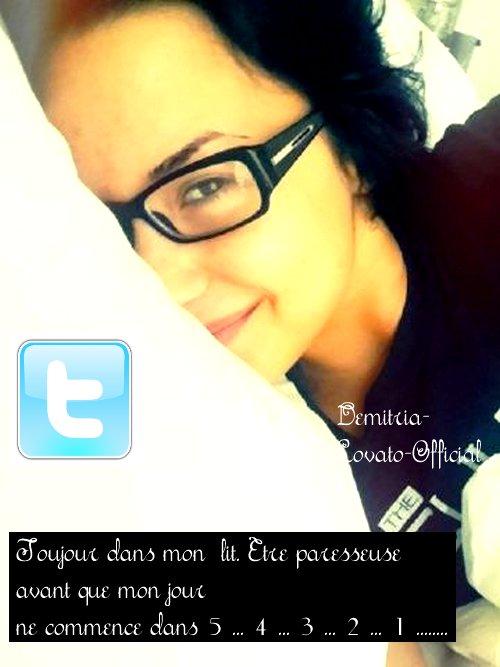 27 Avril 2011: Demi a poster   une nouvellle photo sur Twitter