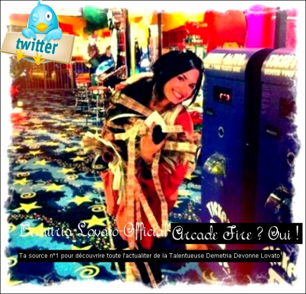 28 Mai 2011: Demi a poster une nouvelle photo sur Twitter. Enjoy :)