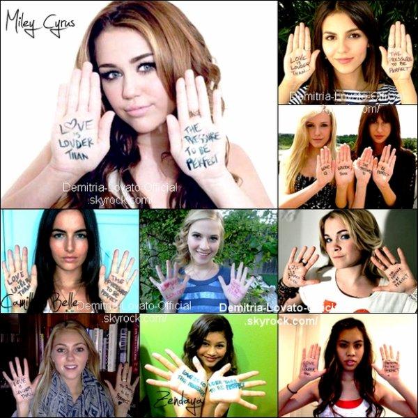 29 Juin 2011 : Quand les stars soutiennent  Demi Lovato...