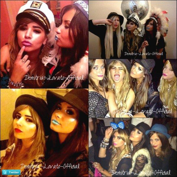 30 Juin 2011- 1 Juillet 2011 : Photo Personnelle : Demi a passer une nouvelle soirée entre fille avec Hanna Beth,Joyce Bonelli et Marissa Callahan