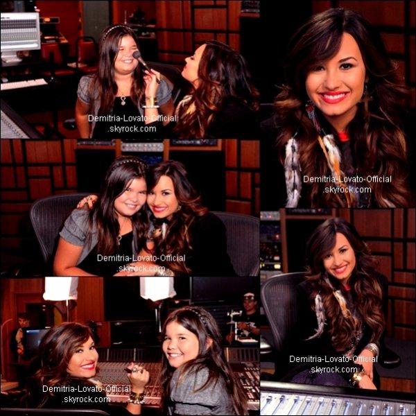 21 Juillet 2011: Candids : Demi Lovato ses rendu au Studio d'Enregistrement a Los Angeles, CA .